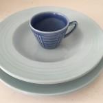 blåt til bordet