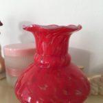 lille vase med flæser