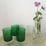 grønne glas